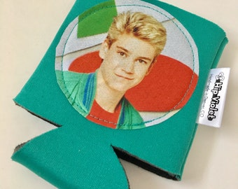 Zack Morris Can Cooler - Saved by the Bell Gift - Saved by the Bell Can Cooler
