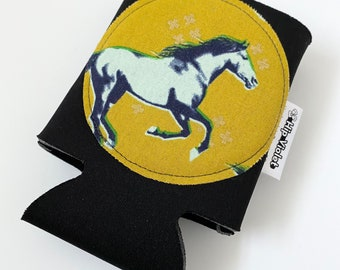 Horse Can Cooler - Horse Birthday Gift - Horse Lover - Horse Fan - Horse Gift