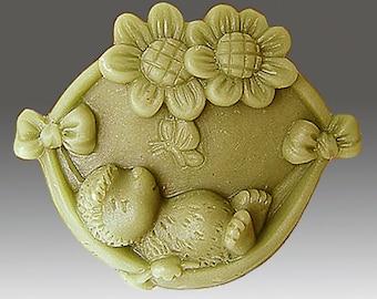 Happy Hedgehog soap mold