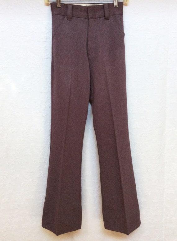 Vintage 1970s Levis BOYS Sportswear Knit Pants, Tr