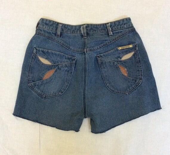 Vintage Denim Cut off Shorts, N Est Ce Pas, Circa… - image 2