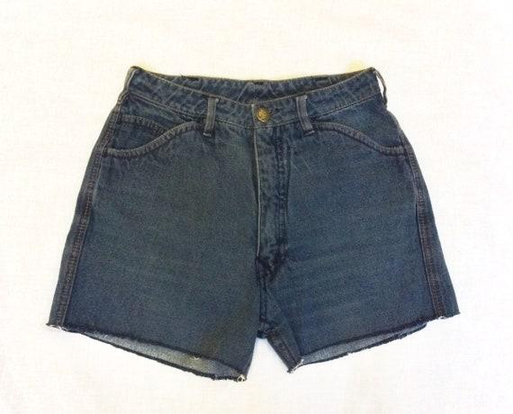 Vintage Denim Cut off Shorts, N Est Ce Pas, Circa… - image 3