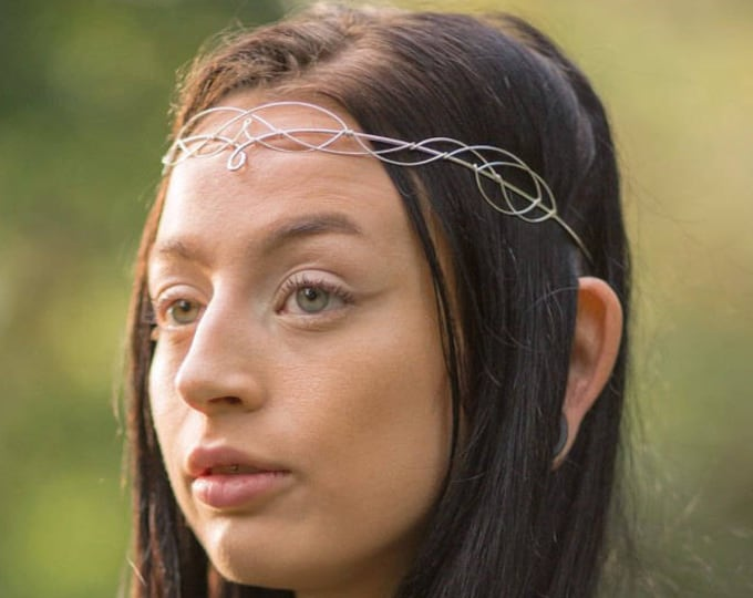 Larp Circlet Headpiece Crown Wedding Tiara Boho Hair Accessories Renaissance Costume Diadem