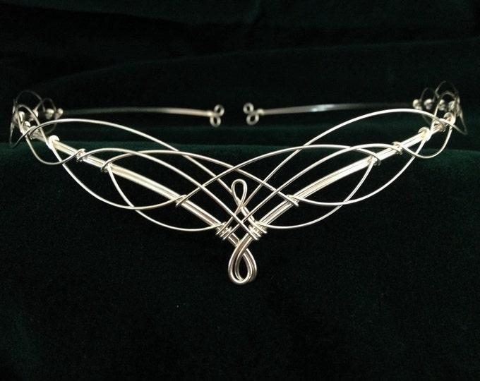Circlet Headpiece Elven Wedding Tiara Crown Medieval Costume