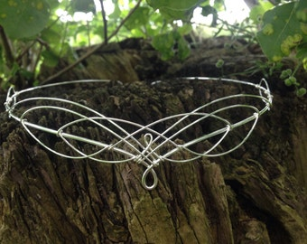 Circlet Tiara Bridal Wedding Elven Headpiece Headdress Hair Accessories