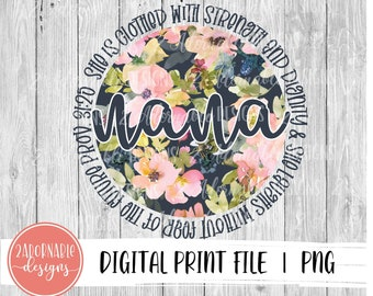 Five Alphabets Summer Flowers Faux Applique Sublimation Design PNG Instant Digital Download Patch Stripes Dots Flowers Floral Spring Girl