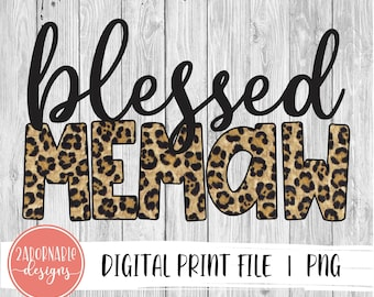 In A World Full Of Be A  Memaw Png Printable,Mother/'s Day Png File,Digital Download Print,INSTANT DOWNLOAD,Sublimation Digital