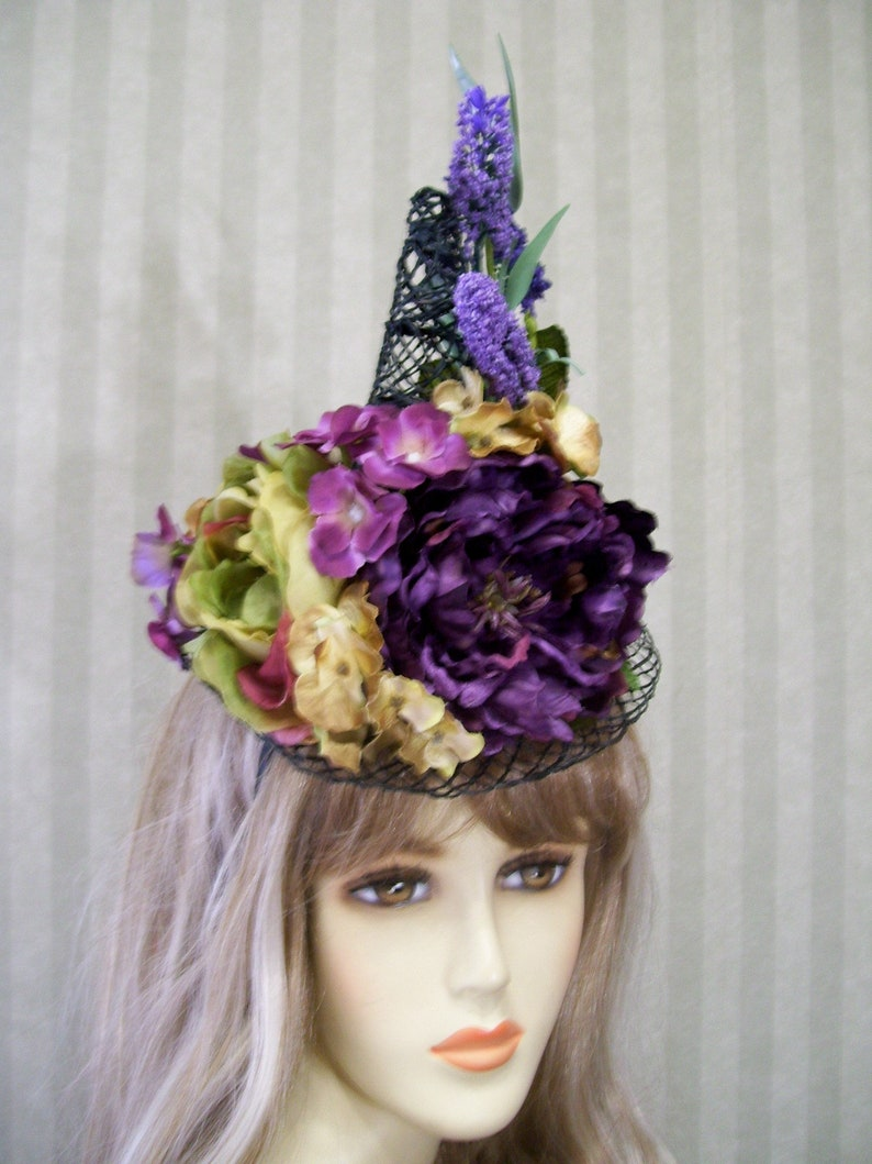 Halloween Mini Witch Hat Witch Fascinator Halloween Hat  20fae552d94