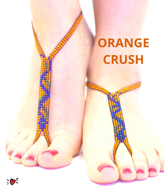 Crush barefoot WARNING: Three
