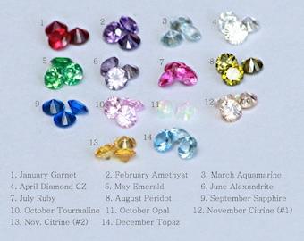 NATURAL / genuine gemstone UPGRADE.  Order add-on.