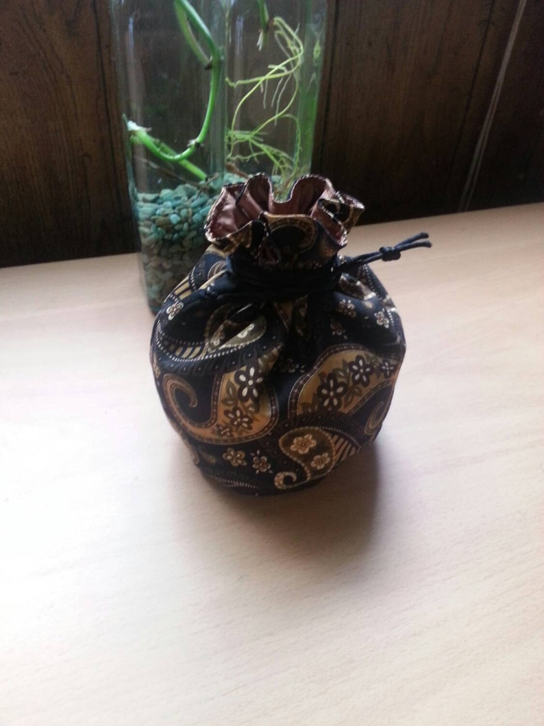 My Pretty Dice Bag  Steampunk Paisley Edition image 0