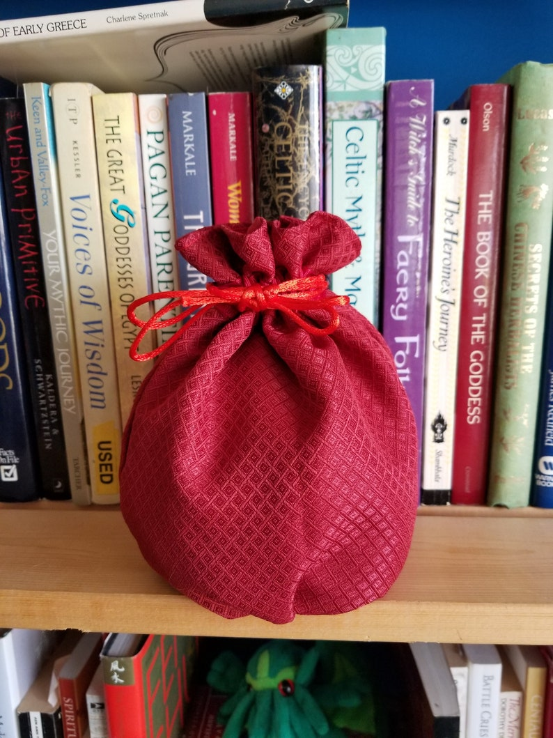 My Pretty Dice Bag  Cardinal Edition image 0