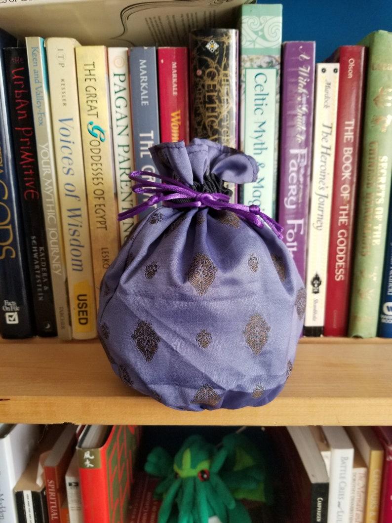 My Pretty Dice Bag  Purple Silk Edition image 0