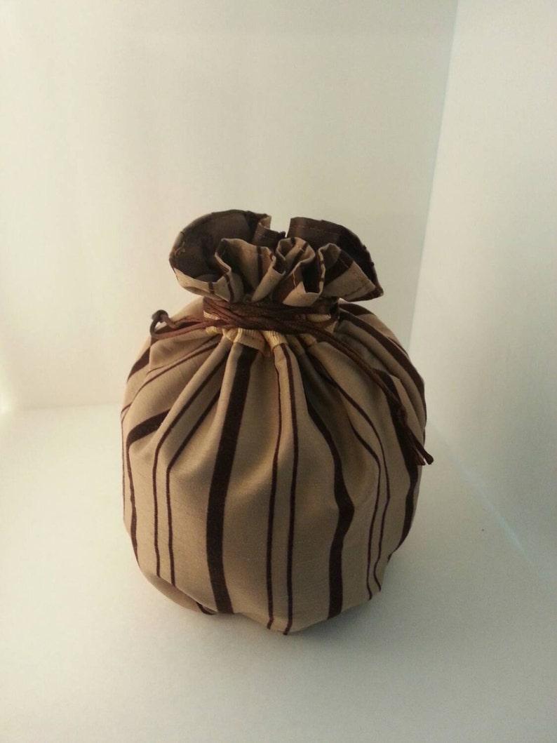 My Pretty Dice Bag  Cinnamon Stripe Edition image 0