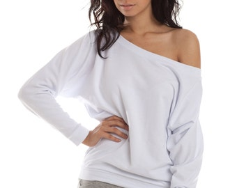Off The Shoulder Sweater, dolman sweaters, off shoulder sweaters, long sleeves, off the shoulder, grey sweaters, black sweaters, lamixx tops