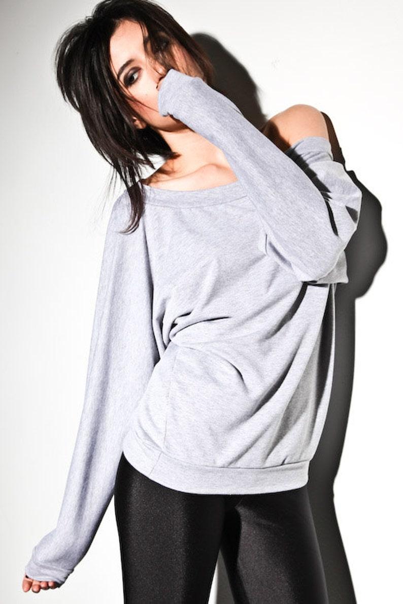 3749d41b Off The Shoulder Sweater dolman sweaters off shoulder | Etsy