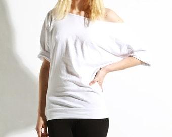Preorder Off The Shoulder Top,  Oversized Cotton Shirt, Womens Tee,  Basics, Off Shoulder Basics, XL shirts, Womens Blouse, Cotton Tops