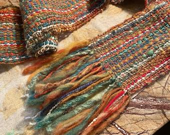 Lang Musica Cotton Woven Ribbon Yarn Seafoam Green and Gray 5 Skeins