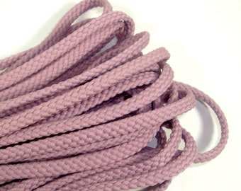 Purple Flat Cord, Shoe String Style Sewing Crafting Trim