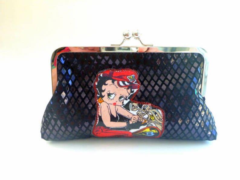 06ceca26fdda Wallet clutch Betty Boop wallet rockabilly clutch pinup