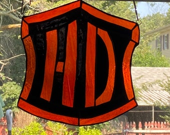 Harley Davidson inspired logo