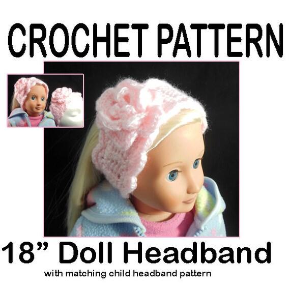Fashion Doll Dress and Headband ~ FREE Crochet Pattern   570x570