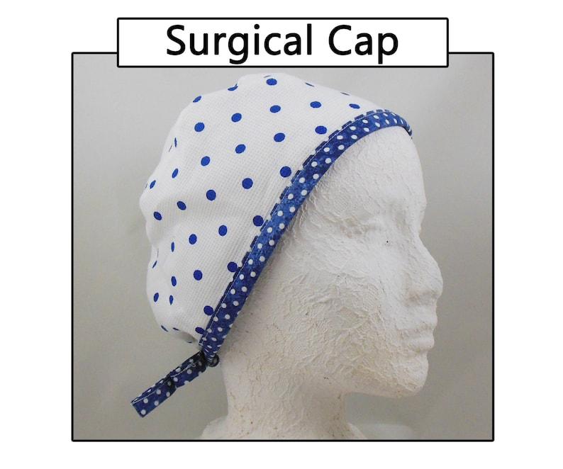 Surgical Cemo Doctor Nurse Scrub CapHat