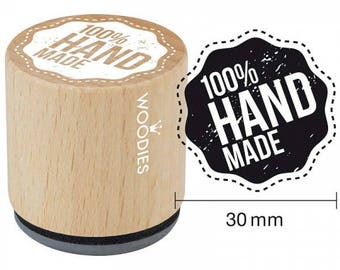 Woodies 100/% HANDMADE Rubber Stamp For Paper Cardboard School Office Accessories