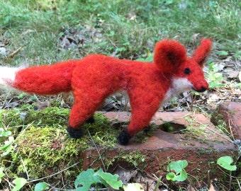 Wool Felt Red Fox