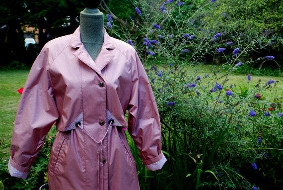 Classy vintage 1980s , mauve pink, dusty rose, mau