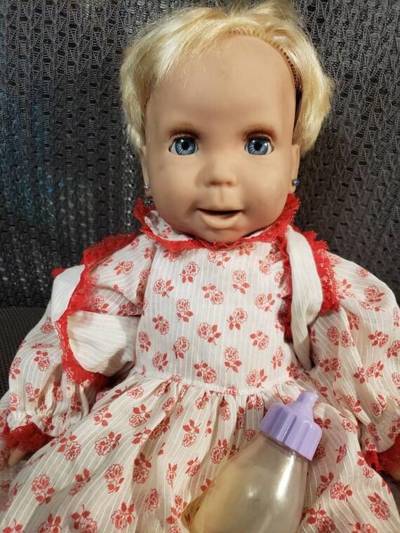 "Barbie On The Go 4/"" Mini Figure Boy Doll Mattel Blue Pants Triangle Shirt BNIB"