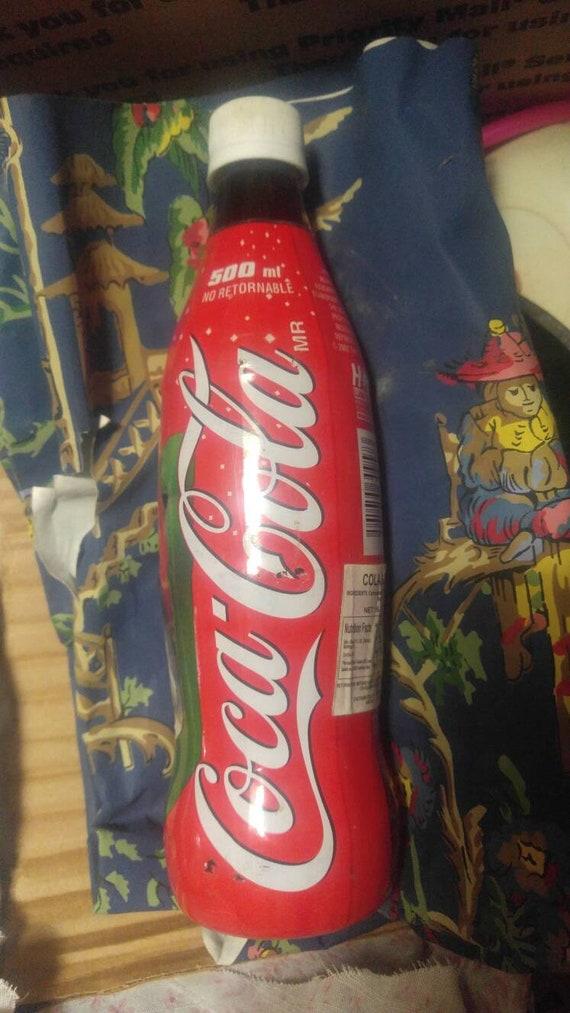 Coca Cola Christmas Bottle.Vintage 2002 Coca Cola Christmas Bottle Mexico