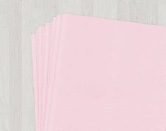 25 Sheets of Cover Stock - Pink - DIY Invitations - Paper for Weddings & Other Events