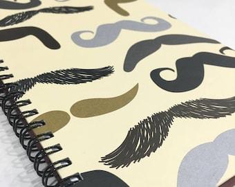 Ruled Journal - Mustache