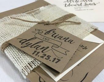 Custom Wedding Invitation Suite - ALL ORIGINAL DESIGNS - Customize Format & Design