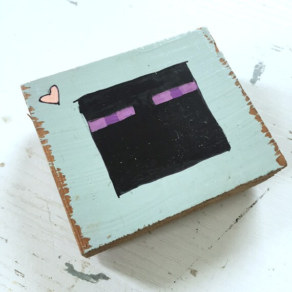 Minecraft Enderman Painting Head