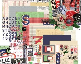 Spree - Digital Scrapbooking Kit