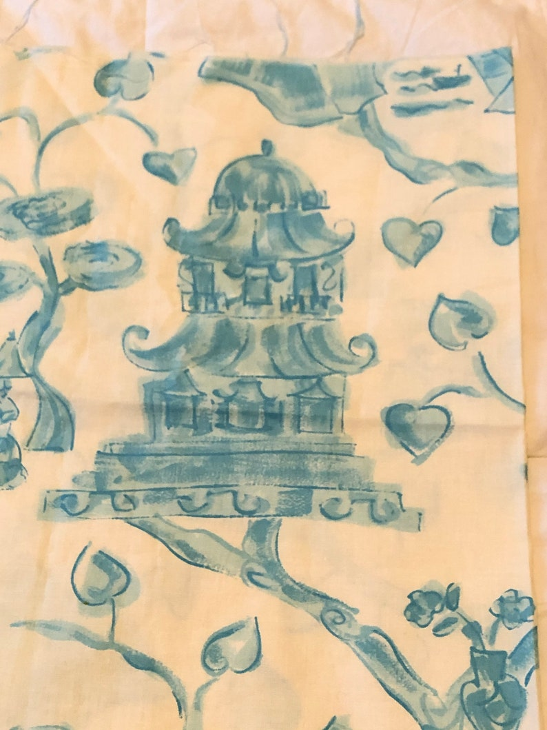Free  Shipping Asian inspired fabric Piece  CONCORD FABRICS