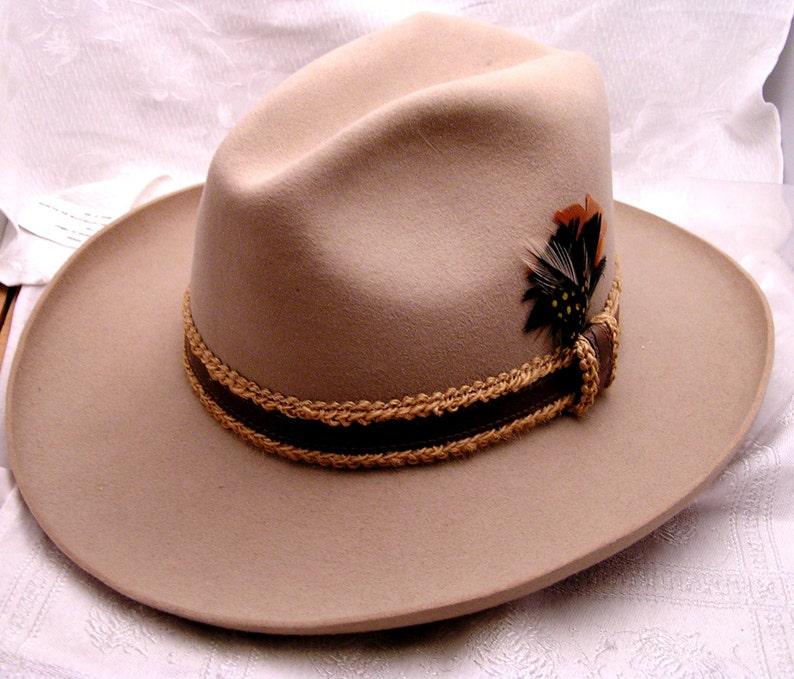39b96f6a3edae Vintage Stetson Gun Club Fedora Hat