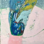 Winter Bouquet, Original oil painting on BFK rives cotton paper