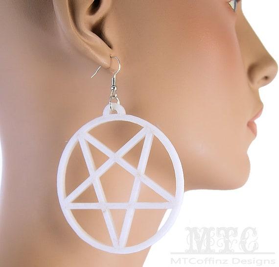 3D Witch earrings