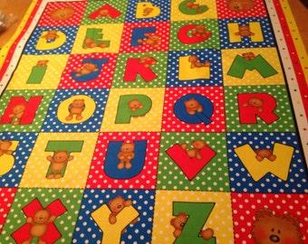 ABC quilt