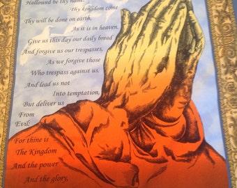 Lords Prayer Quilt