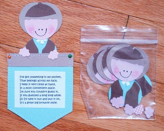 Girl Scouts, Brownies Paperkins and journaling tags