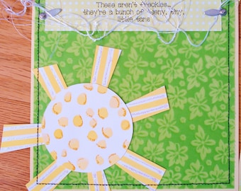 Freckles Girl Boy Premade Layout pages blocks 12x12 Pages