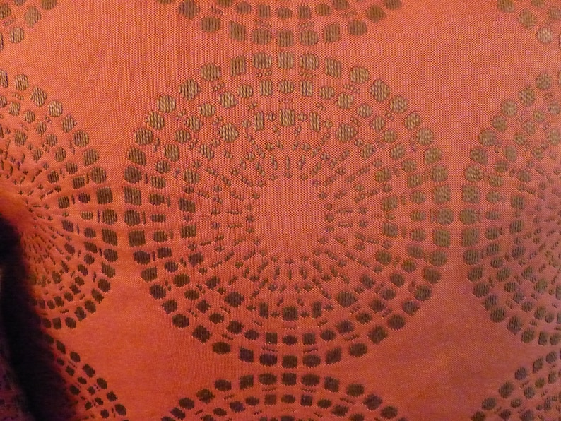 Vintage Rust Red Decorative Feather Pillows Marshall Fields