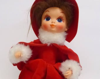 Vintage Moving Musical Doll Playing Fascination Waltz