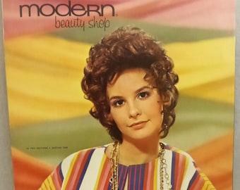 Vintage Modern Beauty Shop June 1970