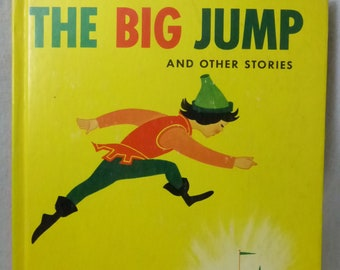 Vintage Children's Book The Big Jump and Other Stories by Benjamin Elkin
