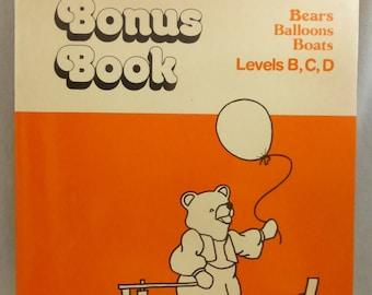 Vintage Bears, Balloons, Boats Levels B, C, D Bonus Book Vocabulary, Story Comprehension Elementary School